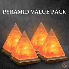 Himalayan Salt Lamp Pyramid Shape by Special Package Deals Salt Lamp Packages