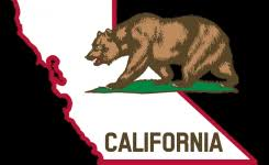 California In Map Of Usa Free Vector Graphic Bear Flag Image 630