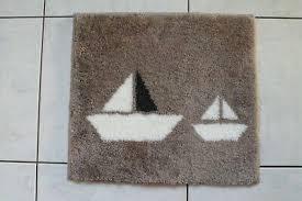grund badteppich badematte badvorleger seepferdchen maritim
