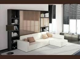 canap avec biblioth que int gr e canapé rabattable lit escamotable 90 el bodegon
