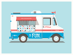 100 Lowrider Ice Cream Truck Animated