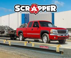 Scrapper Recycling And Scrap Industry Truck Scales | Cardinal Scale