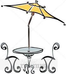Patio Table Clip Art