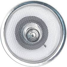 Bathroom Drain Hair Stopper Walmart by Peerless Satin Nickel Mesh Sink Strainer With Stopper Walmart Com