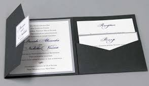 Pocket Wedding Invitations To Make With Pockets