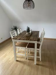 esstisch mit 4 stühlen tisch stuhl dänisches bettenlager