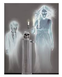 Halloween Scene Setters Canada by Halloween Decoration Huge Ghostly Spirits Scene Setter Ebay