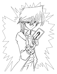 Animated Coloring Pages Yu Gi Oh Image 0047