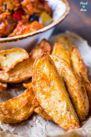 Syn Free Rustic Potato Wedges