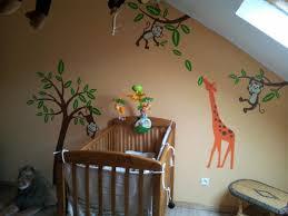 chambre de b b jungle chambre bébé jungle 6 photos debusschere