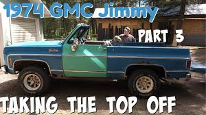 1974 GMC Jimmy 4-Speed Part 3 (Taking The Top Off) - YouTube 1974 Gmc Truck For Sale Classiccarscom Cc1133143 Super Custom Pickup Pinterest Your Ride Chevy K5 Blazer 9500 Brochure Sierra 3500 1055px Image 8 Pickup Suburban Jimmy Van Factory Shop Service Manual Indianapolis 500 Official Trucks Special Editions 741984 All Original 1500 By Roaklin On Deviantart Chevrolet Ck Wikipedia Feature Sierra 2500 Camper Classic Cars Stepside 1979 Corvette C3 Flickr Gmc Best Of Full Cversions From An Every Day To