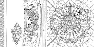 The Time Chamber A Magical Story And Coloring Book Adult Books