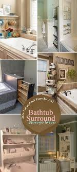 20+ Neat And Functional Bathtub Surround Storage Ideas 2017 Small Space Bathroom Storage Ideas Diy Network Blog Made Remade 41 Clever 20 9 That Cut The Clutter Overstockcom Organization The 36th Avenue 21 Genius Over Toilet For Extra Fniture Sink Shelf 5 Solutions For Your Rental Tips Forrent Hative 16 Epic Smart Will Impress You Homesthetics