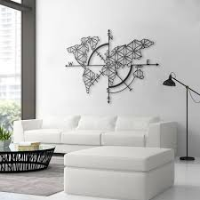 How To Ship Furniture On Etsy Luxury Map Of Life Metal World Wall Decor