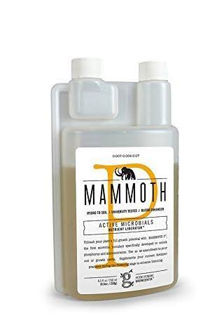 Mammoth P Microbes Omri Listed Flower Bud Bloom Booster - 250ml
