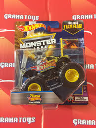 100 Team Hot Wheels Monster Truck Firestorm 410 Tour Favorites 2017