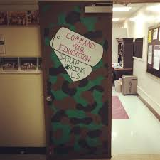 Winter Themed Classroom Door Decorations by Army Themed Classroom Door Diy Pinterest Classroom Door