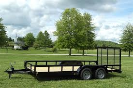 16 UTILITY LANDSCAPE TRAILER FOR SALE BEST PRICED QUALITY BUILT