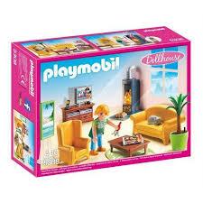 playmobil 5308 wohnzimmer mit kaminofen playmobil spielzeug