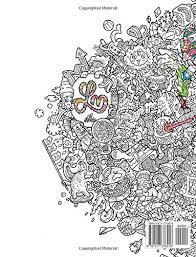 Amazon Doodle Fusion Zifflins Coloring Book Volume 2 9781517376918