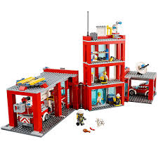 100 Fire Truck Lunch Box Station 60110 City LEGO Shop