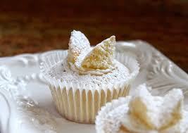 Traditional British Butterfly Cakes Or Fairy Cupcakes