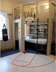 Oh Yeah Love This Basketball Room Idea For Boys My Kids Will Def Have