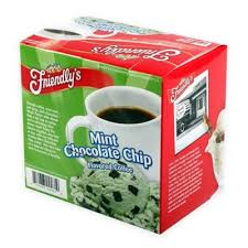 Product Image For Friendlys 18 Count Mint Chocolate Chip Coffee Single Serve Makers