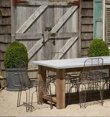 Bluestone Dining Room by Outdoors Bluestone Table At Terrain Remodelista