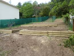 amenagement jardin rondins bois yvelines eure et jardin d