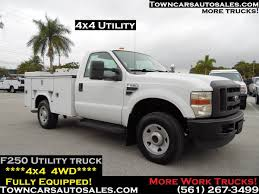 100 Ford F250 Utility Truck Commercial Inventory