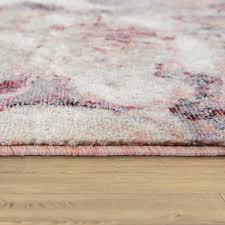 wohnzimmer teppich kurzflor esszimmer blumen muster boho style modern in größe 160x230 cm
