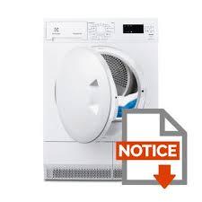 electrolux edp2074pzw sèche linge 7kg condensation classe