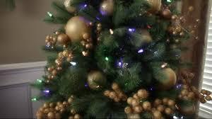 75 Flocked Christmas Tree by Santa U0027s Best 7 5 U0027 Flocked 137 Function Led Smart Tree Page 1