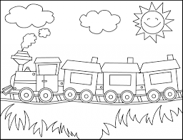 Free Printable Train Coloring Pages For Kids Inside Color Page Pertaining To Really Encourage In