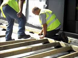 Bison Deck Supports Canada by Support Pads For Timber Decking Install By Wallbarn Youtube