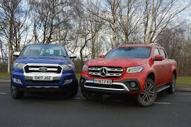 Mercedes-Benz X-Class V Ford Ranger | Professional Pickup Magazine