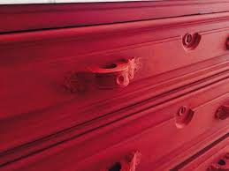 Americana Decor Chalky Finish Paint Colors by Red Chalky Finish Dresser Designers Sweet Spot