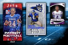 Personalized Senior Football Banners