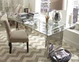 skillful design sophie mirrored dining table all dining room