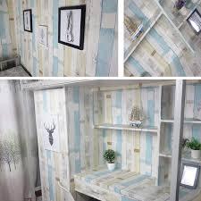 Decorativo Panel de madera patrón Contacto Papel autoadhesivo papel