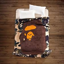 Bape Bed Sheets by Blanket Throw Picture More Detailed Picture About A Bathing Ape