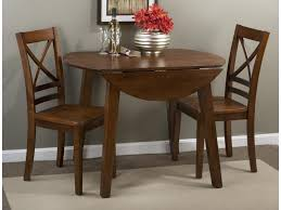 3x3x3 - Caramel Round Table And 2 Chair Set (with