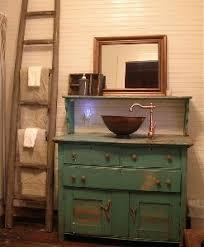 Photos Of Primitive Bathrooms by 41 Best Repurposed Vanities Images On Pinterest Basement