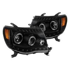 2011 toyota tacoma custom factory headlights carid