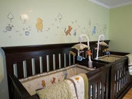 Classic Pooh Crib Bedding by Share The Wonder Twin Boy Nursery In Classic Winnie The Pooh