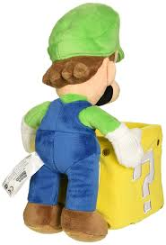 amazon com little buddy super mario bros luigi holding coin