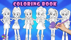 Equestria Girls Coloring