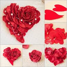 Heart Wall Decoration Felt Decor Crafthubs Best Creative