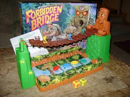 Forbidden Bridge Gather Rubies N Shit From The Haunted Stone Face Guy And Bring Them Back Shakes Randomly You Hope Your Doesnt Fall Off